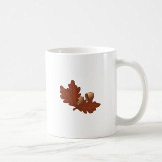 カシの葉 コーヒーマグカップ