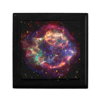 カシオペア座の銀河系の超新星の残り ギフトボックス
