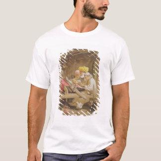 カシミヤ織のショール: 1863年編むこと(chromolitho) tシャツ