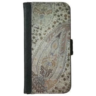 カシミヤ織のデザインのiPhoneのウォレットケース iPhone 6/6s ウォレットケース