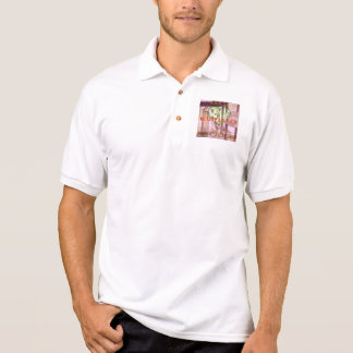 カシミヤ織 ポロシャツ