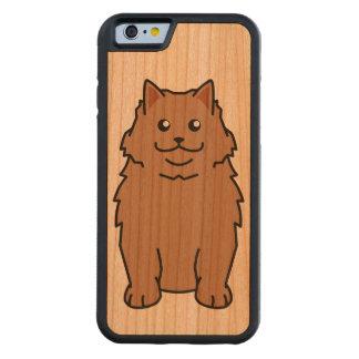 カシミール猫の漫画 CarvedチェリーiPhone 6バンパーケース