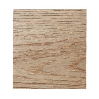 カシ木穀物の一見 ノートパッド