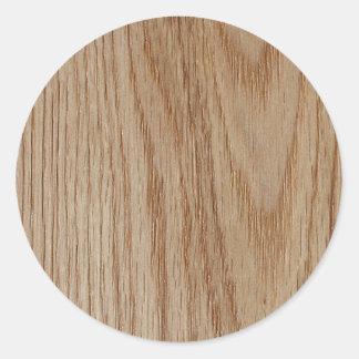 カシ木穀物の一見 ラウンドシール