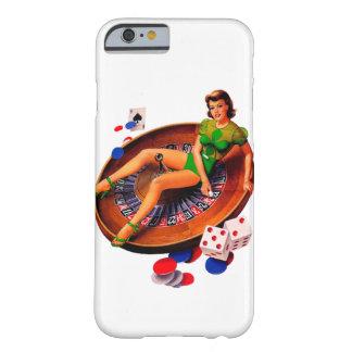 カジノの女の子のラスベガスのiPhone 6/6sの上のPin Barely There iPhone 6 ケース