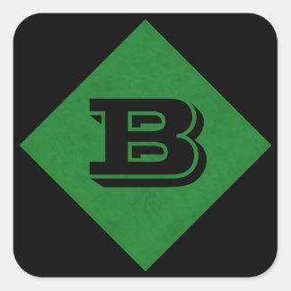カジノの緑のビロードの名前入りな家のカジノ スクエアシール