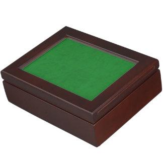 カジノの緑色のビロードのカスタムな家のカジノ ジュエリーボックス