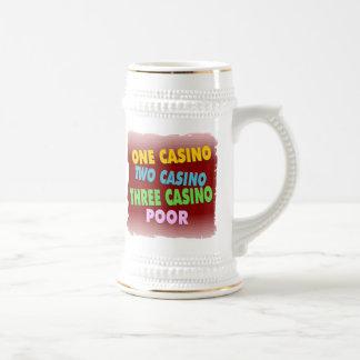 カジノの貧乏人 ビールジョッキ