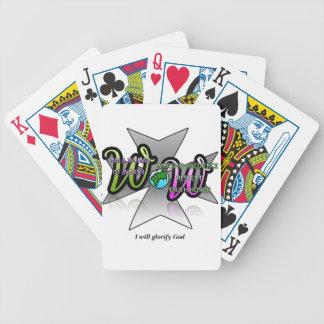 カジノカードの価値を持つの女性 バイスクルトランプ