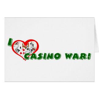 カジノ戦争プレーヤーの挨拶 カード