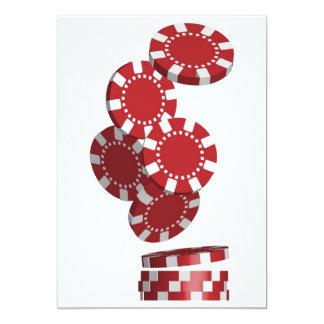 カジノ/ポーカー用のチップ カード
