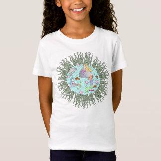 カスタマイズアニータの人魚のワイシャツ-バージョン2 - Tシャツ