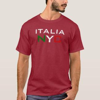 カスタマイズイタリア-ニューヨークシティ- Tシャツ