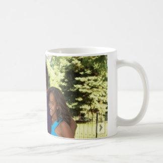 カスタマイズオバマ及びミシェールのマグ- コーヒーマグカップ