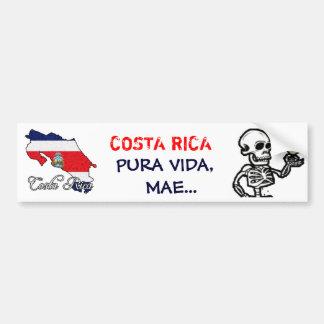 カスタマイズコスタリカのバンパーステッカー- バンパーステッカー
