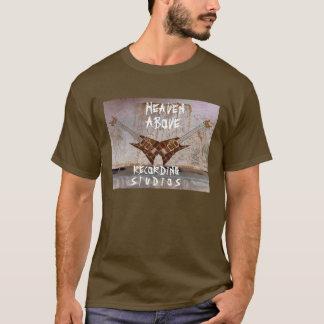 カスタマイズスタジオのdobleギターの上の天国- tシャツ