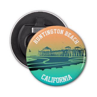 カスタマイズハンチングトンビーチ桟橋のイラストレーション 栓抜き