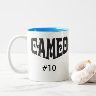 カスタマイズバンガロー数を用いるカメオのコーヒー・マグ ツートーンマグカップ