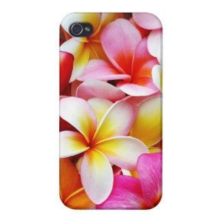 カスタマイズプルメリアのFrangipaniのハワイの花 iPhone 4/4S カバー