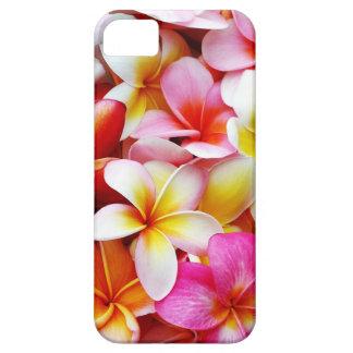 カスタマイズプルメリアのFrangipaniのハワイの花 iPhone 5 ケース