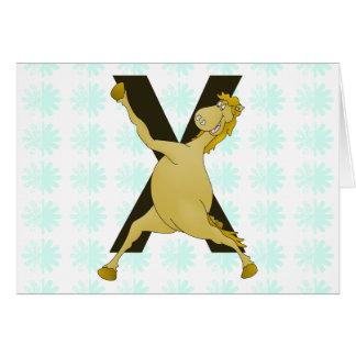 カスタマイズモノグラムXの敏捷な子馬 カード
