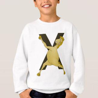 カスタマイズモノグラムXの敏捷な子馬 スウェットシャツ