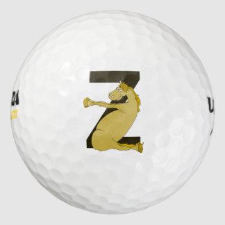 カスタマイズモノグラムZのおもしろいな子馬 ゴルフボール