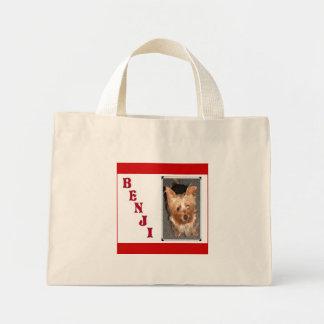 カスタマイズヨークシャーテリアのバッグ- ミニトートバッグ