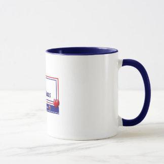 カスタマイズ三郡ブルースターのお母さん- マグカップ