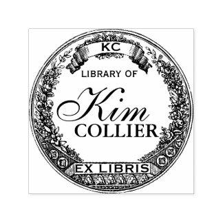 カスタマイズ前のLibris -蔵書票のスタンプ- セルフインキングスタンプ