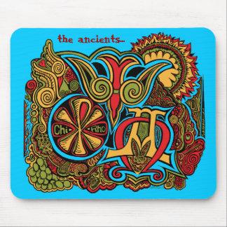カスタマイズ古代シンボルや象徴- マウスパッド