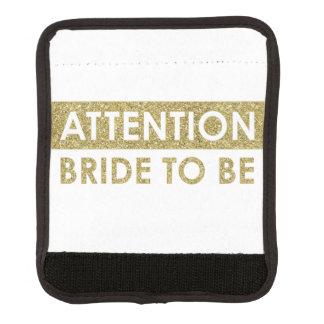 -カスタマイズ可能がある注意の花嫁 ラゲッジ ハンドルラップ