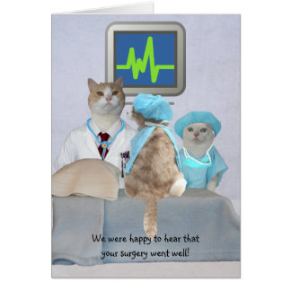 カスタマイズ可能でおもしろいな猫か猫ちゃんはよく得ます カード