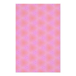 カスタマイズ可能でファンキーでガーリーなピンクの背景パターン 便箋
