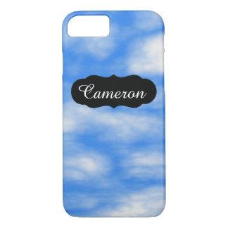 カスタマイズ可能でリラックスさせるな青空はiPhone 7を曇らせます iPhone 8/7ケース