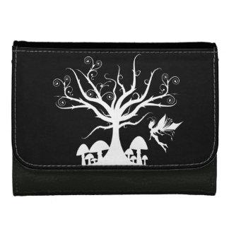 カスタマイズ可能で白くおよび黒く気味悪い妖精の財布 ウォレット