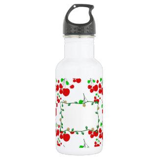 カスタマイズ可能で赤いさくらんぼパターン付属品LeahG ウォーターボトル