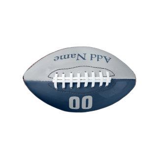 カスタマイズ可能で青い及び銀製の小型フットボール アメリカンフットボール