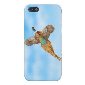 カスタマイズ可能で飛んでいるなRingneckのキジのiPhoneの場合 iPhone 5 Case