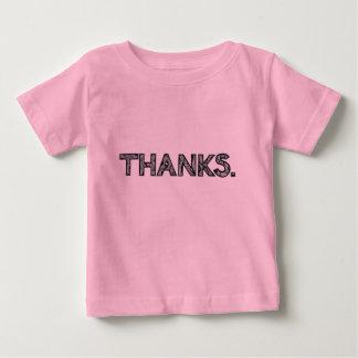 カスタマイズ可能なありがとう|の子供のTシャツ| ベビーTシャツ