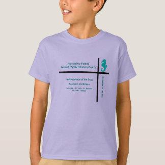 カスタマイズ可能なはさみ金のタツノオトシゴ Tシャツ
