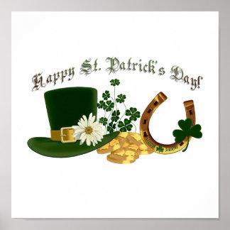 カスタマイズ可能なアイルランド人のセントパトリックのデザイン ポスター