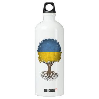 カスタマイズ可能なウクライナの旗の生命の樹 ウォーターボトル