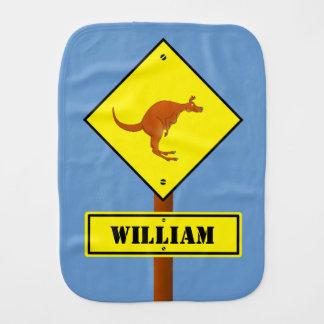 カスタマイズ可能なカンガルーの交通標識 バープクロス