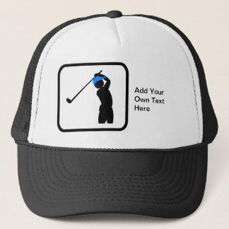 カスタマイズ可能なゴルファーのロゴ キャップ