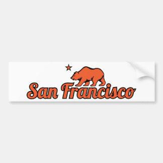カスタマイズ可能なサンフランシスコ バンパーステッカー