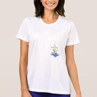 カスタマイズ可能なシンクロナイズドスイミング- Tシャツ