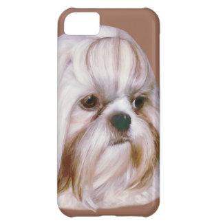 カスタマイズ可能なシーズー(犬)のTzu犬 iPhone5Cケース