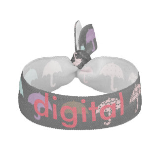 カスタマイズ可能なジョガーのデジタル傘のヘアタイ ヘアタイ