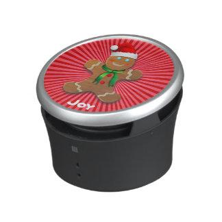カスタマイズ可能なジンジャーブレッドマン BLUETOOTH対応スピーカー